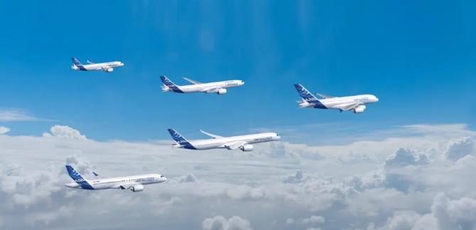 空客机队 ©Airbus